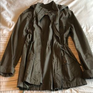 Army green military style jacket! Great condition!